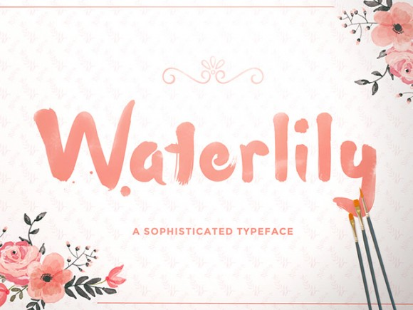 Waterlily Handwriting Font