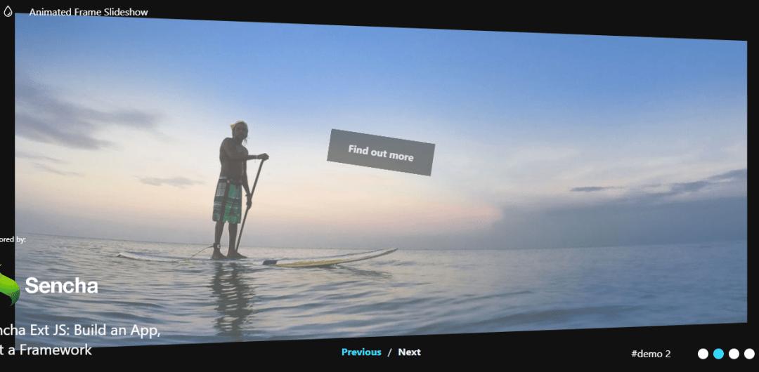 Animated SVG Frame Slideshow