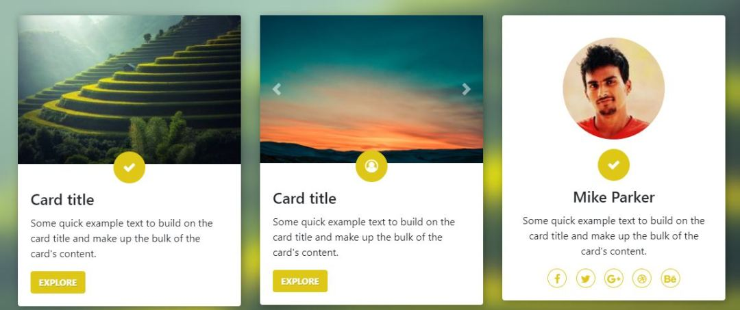 Awesome Bootstrap 4 Cards