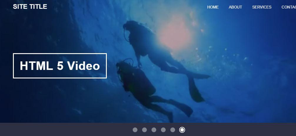 Auto Play YouTube, Vimeo and HTML5 Video Slider