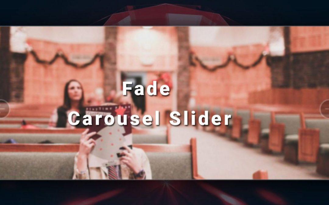 Fade Carousel Slider