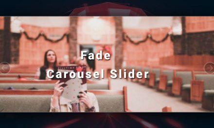 5 Bootstrap Fade Carousel Slider