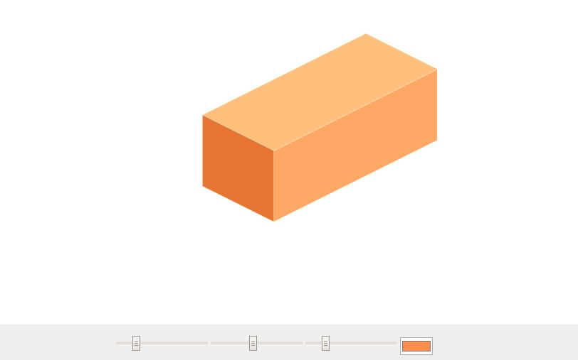 HTML5 Canvas Isometric Cube