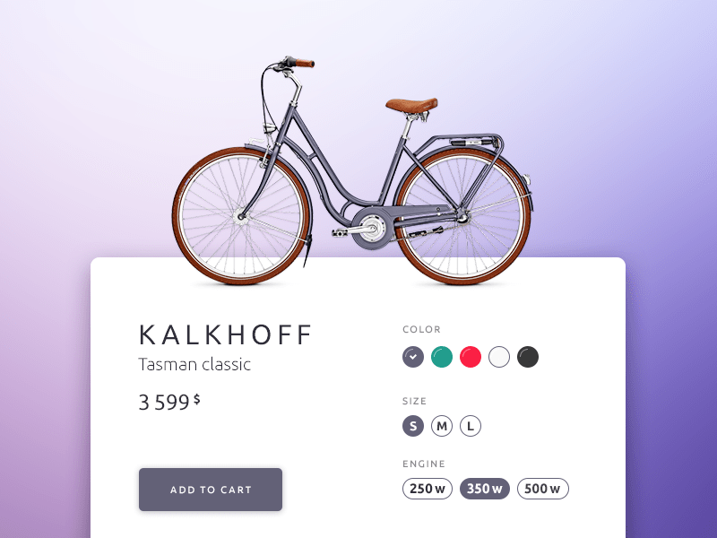 Daily UI - Customize Product