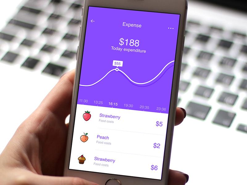Expense Tracker - UI UX Visuals