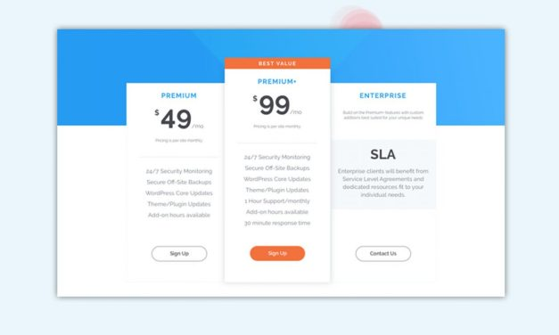 30+ Interesting Pricing Table UI Design