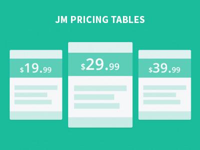 Pricing Tables free Joomla Module