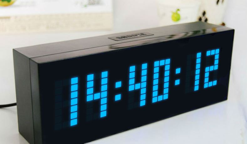 3D JS Animated Clock