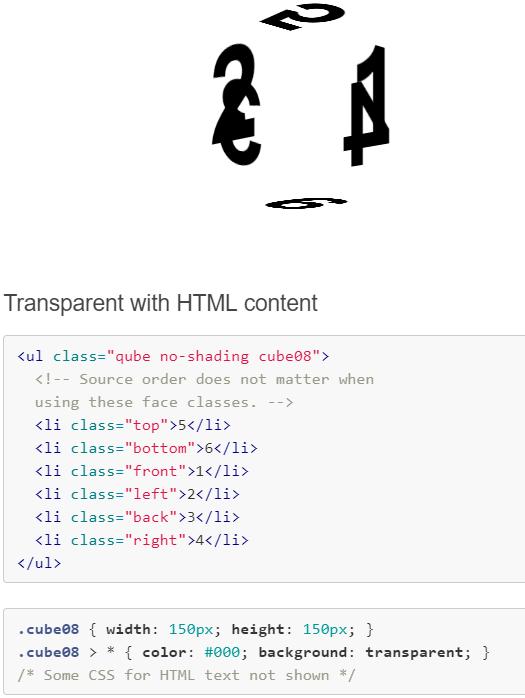 Quintessential Responsive 3D CSS Cube
