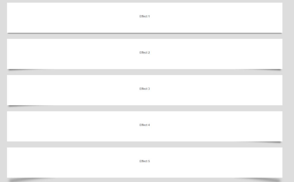 Pure CSS-Box drop