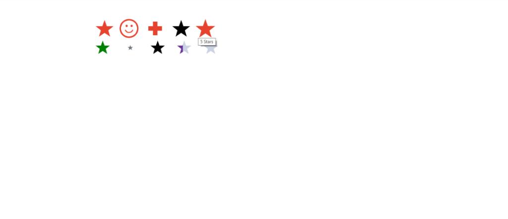 React Star Ratings