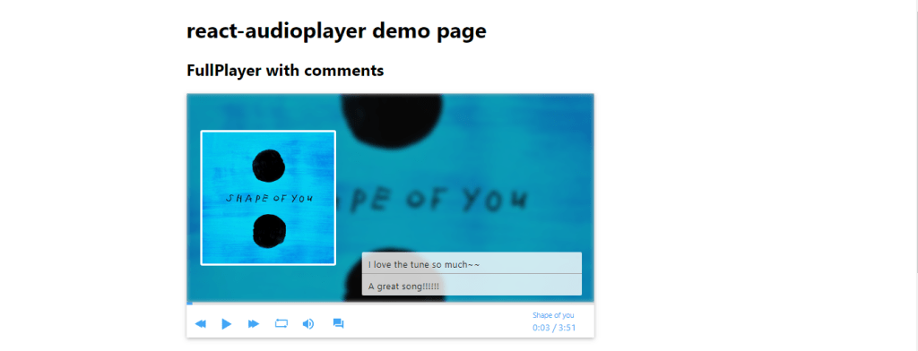 Customizable HTML5 Player