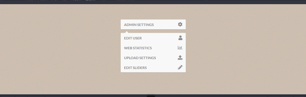 Dropdown toggle menu with css example