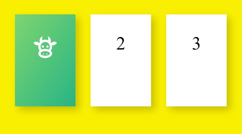 Flippy Cards