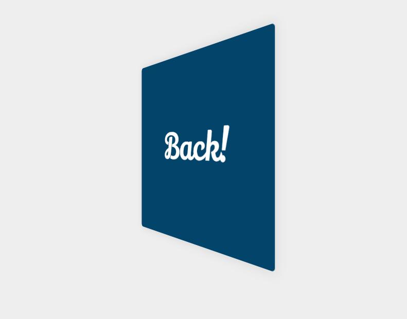 Pure CSS Card Flip