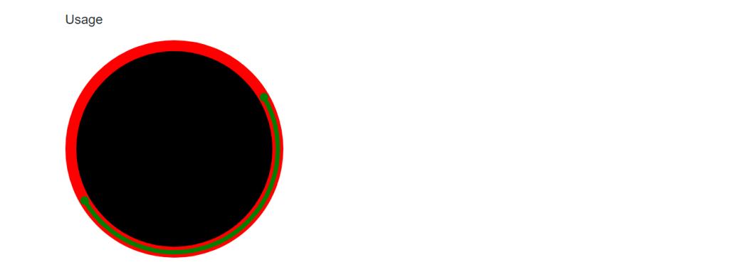Progress spinner