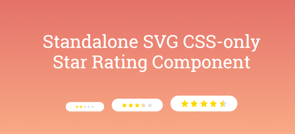 Standalone SVG CSS-only