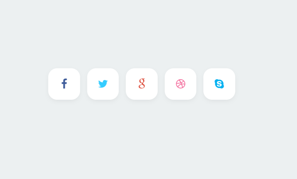 Stylish Social Buttons