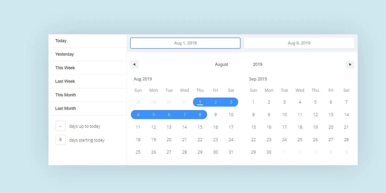 React Calendar Components Libraries