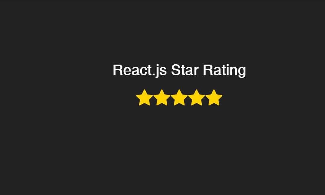 React Star Rating