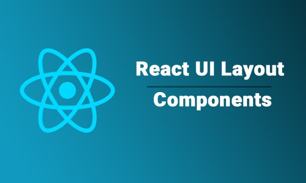20+ React UI Layout Components Libraries