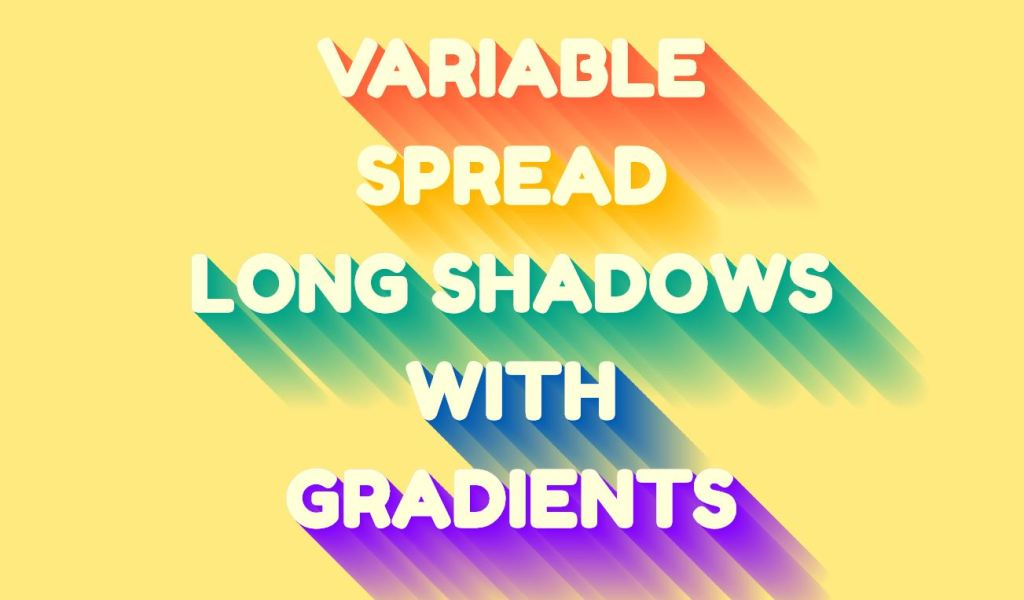 Variable Longshadow with Gradient Mixin