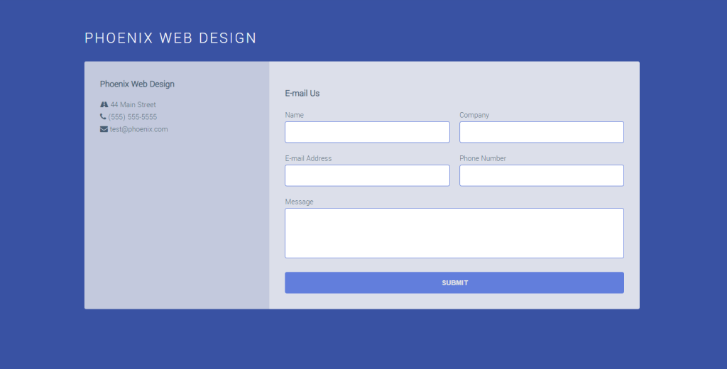 Responsive Contact forms