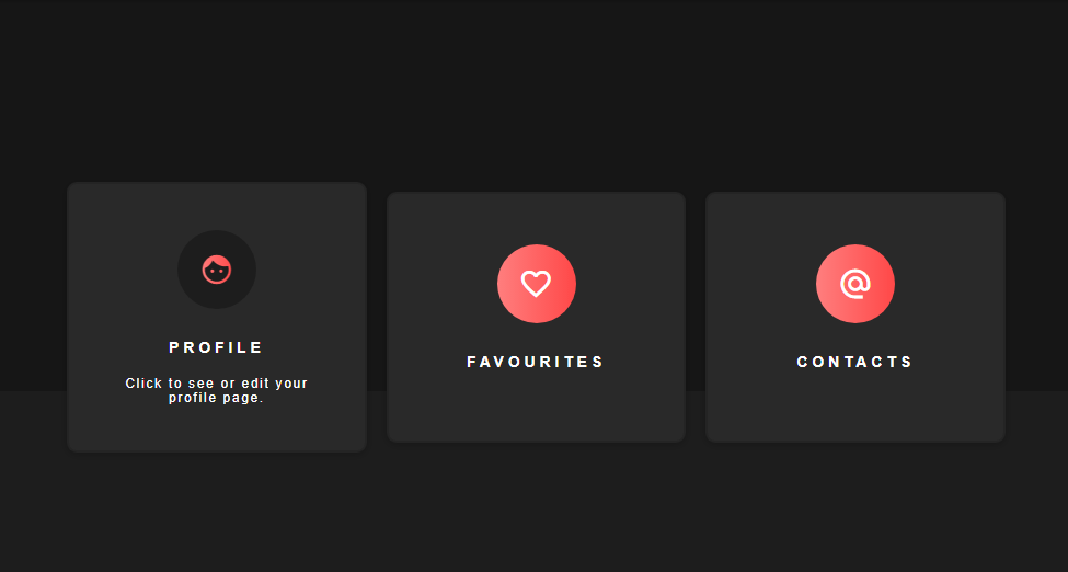 Simple card hover effects