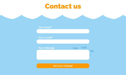 20 Beautiful CSS Contact Forms Code Examples