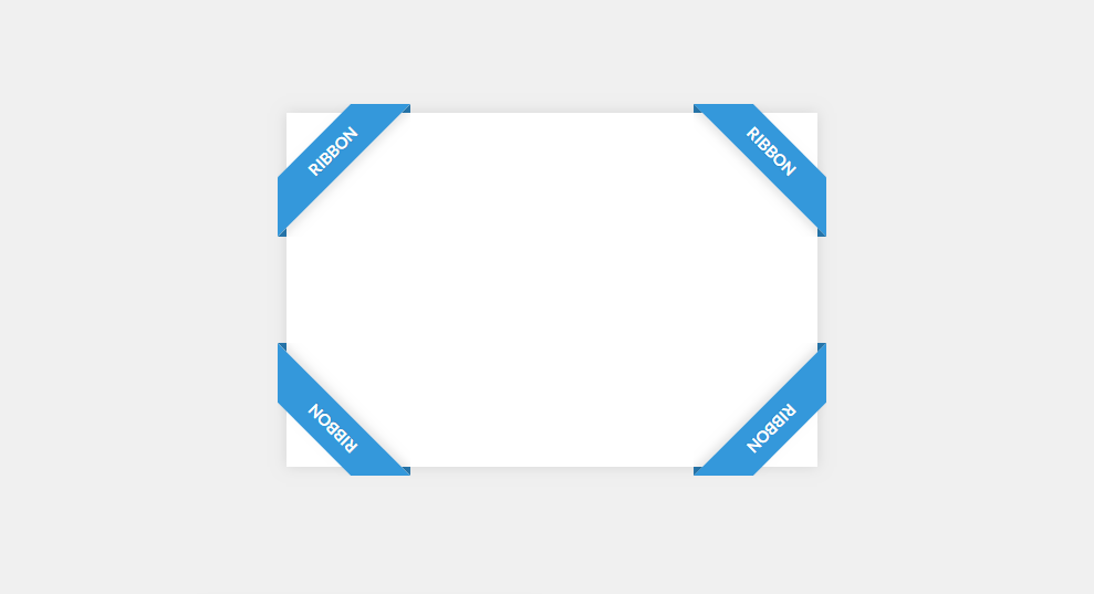 ribbon frame