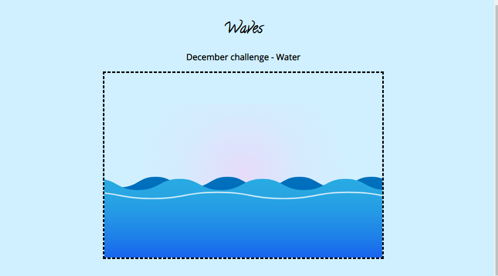 CSS Water Effect