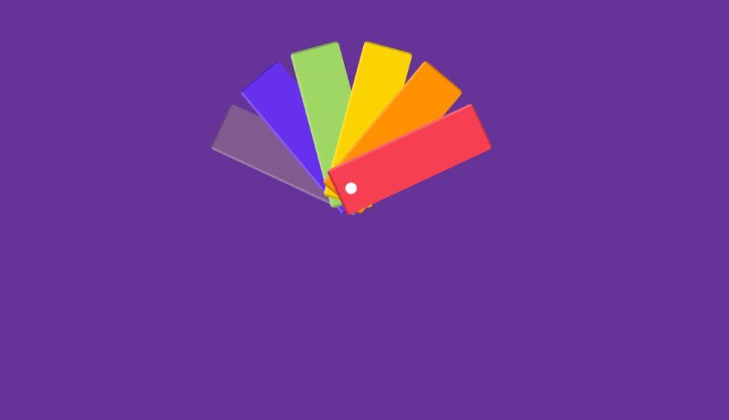 color palette css html