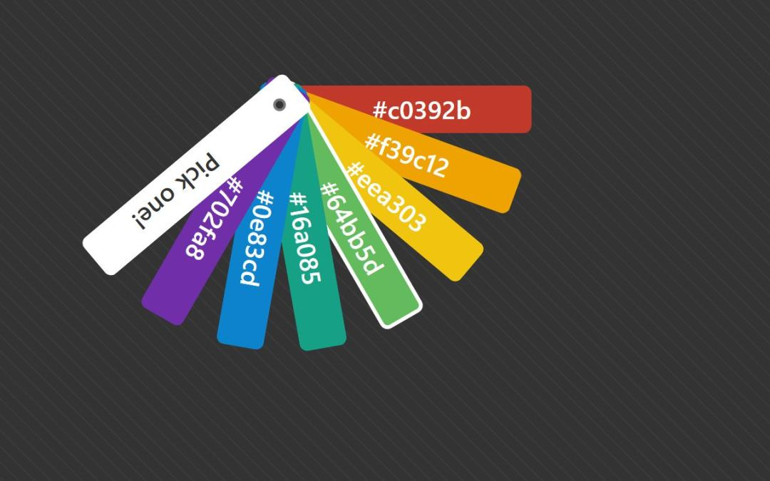 HTML CSS Color Palette