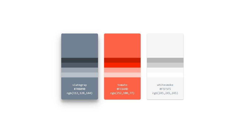 color palette html