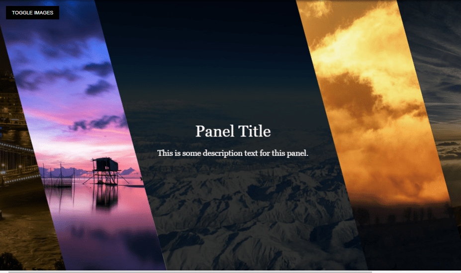 18+ CSS Panel Examples with Source Code