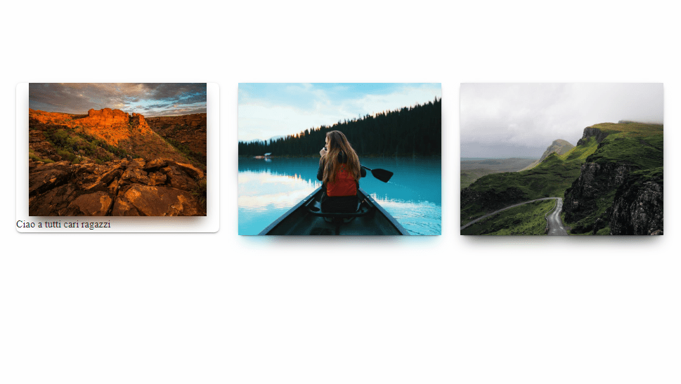 multiple image shadow effect with css