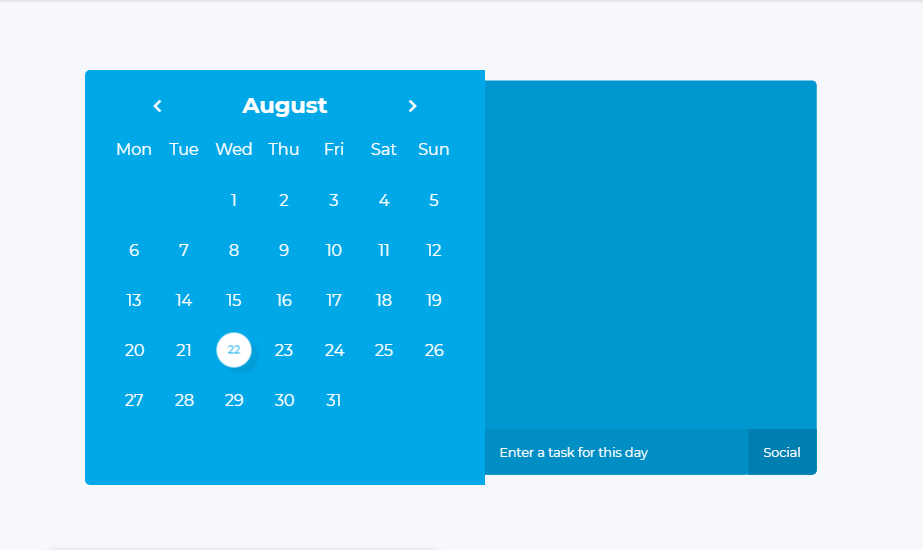 note maker with date selection