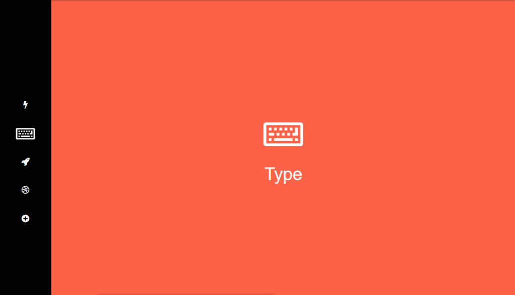 one page navigation with css