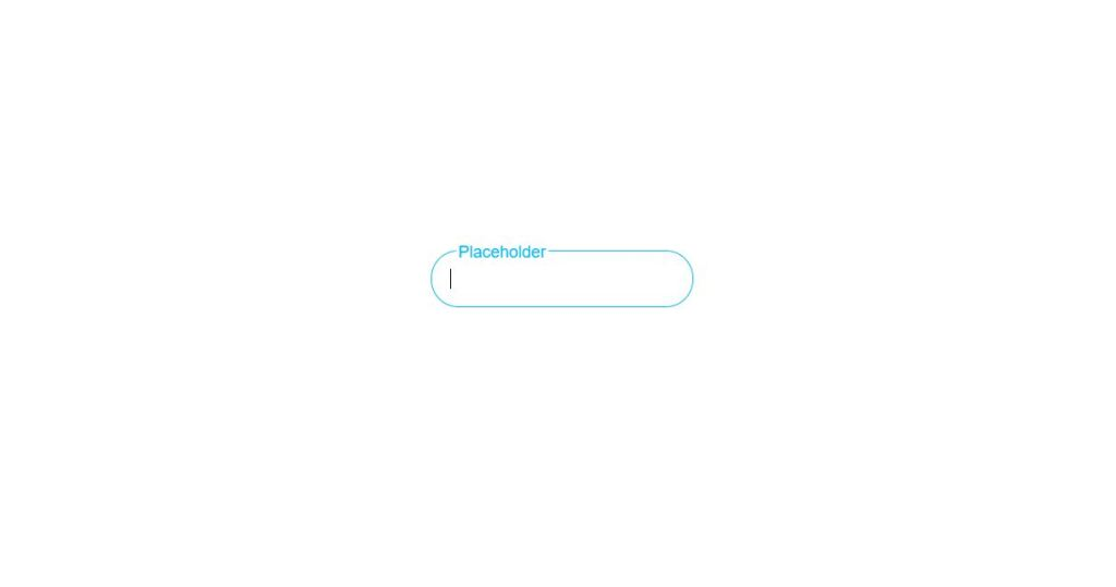 Adaptive Placeholder Input Color Text Type HTML CSS