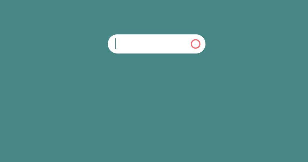 animated UI Text Input