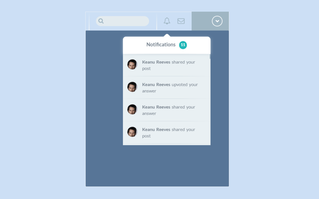 Bootstrap Notification Examples