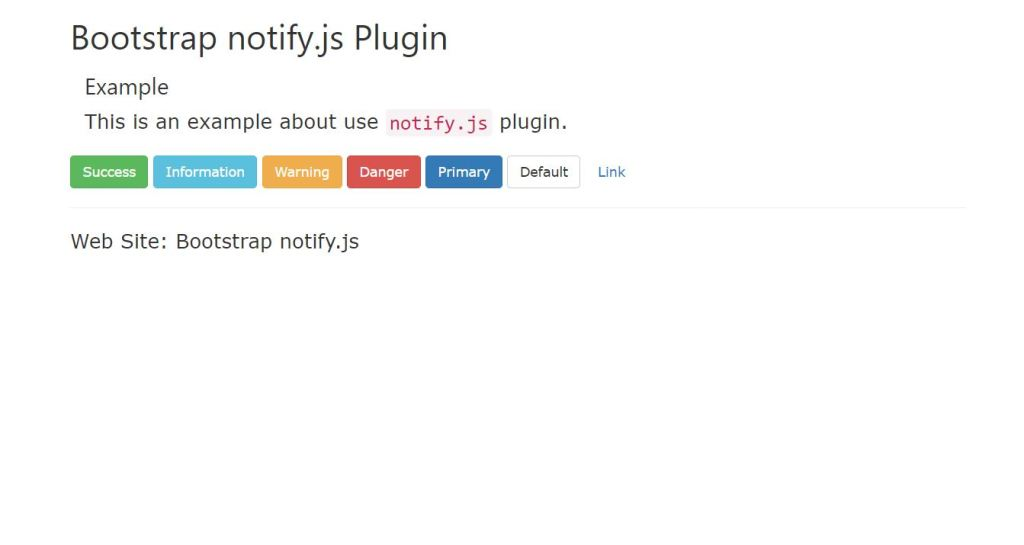 Notify.js Plugin