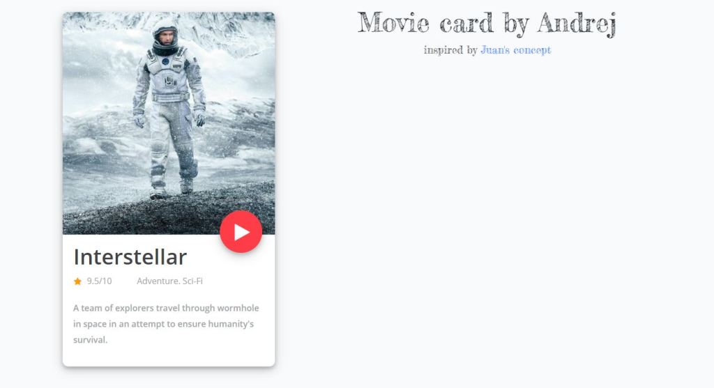 card design and effect with html, css and javascript cards