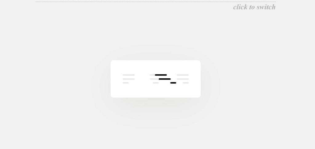 animated alignment button