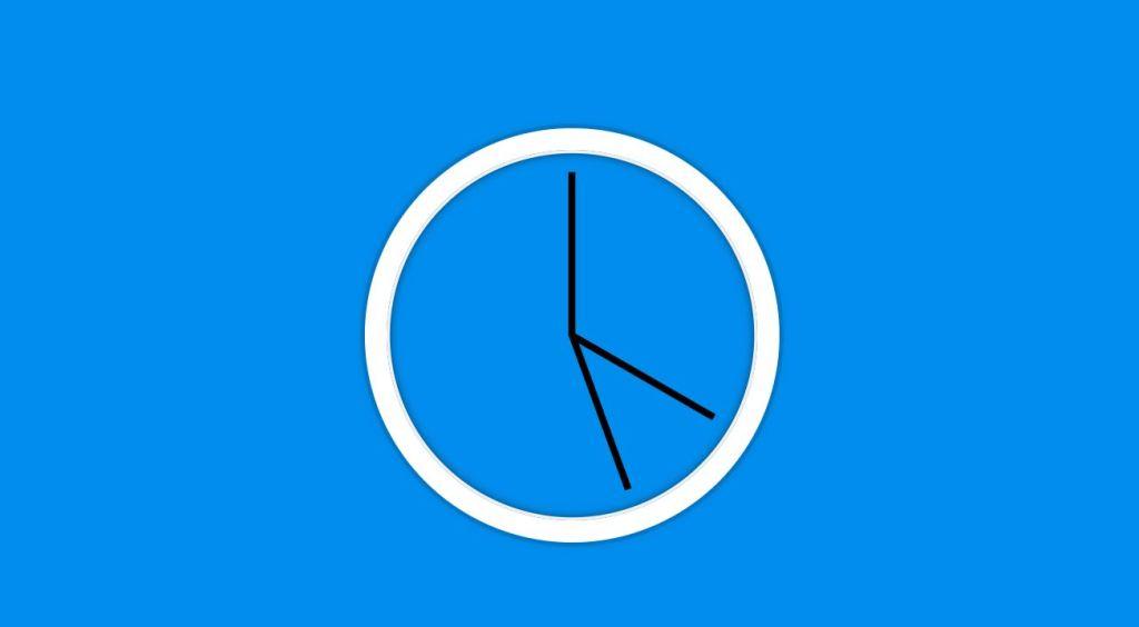 HTML CSS digital clock animation countdown timer clock.
