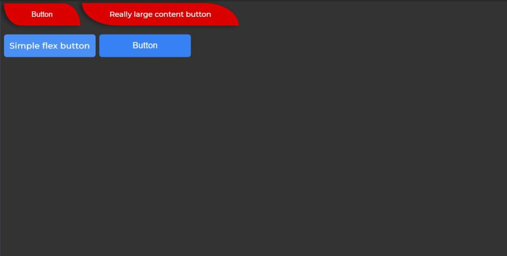 Custom HTML CSS Rounded Corners/Curved Border Buttons