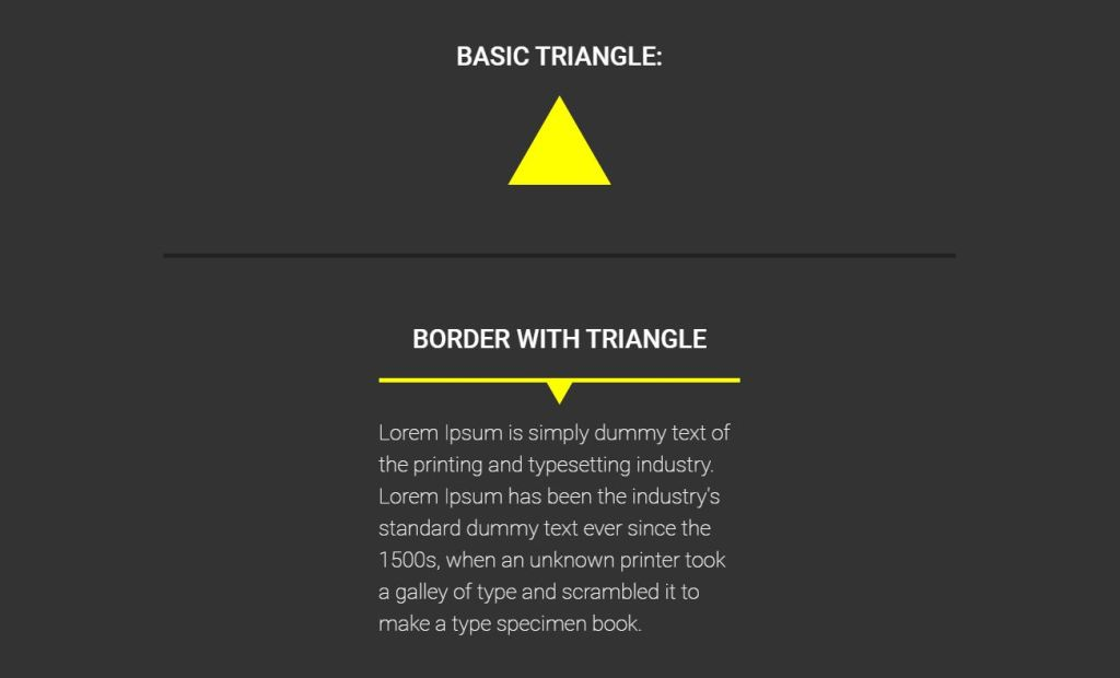 equilateral borders