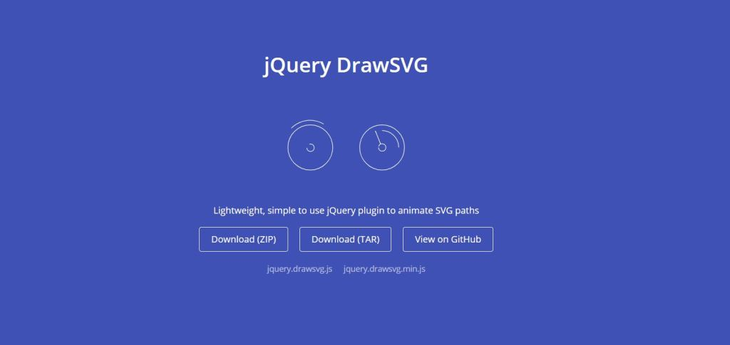 jquery animation plugins animate DrawSVG