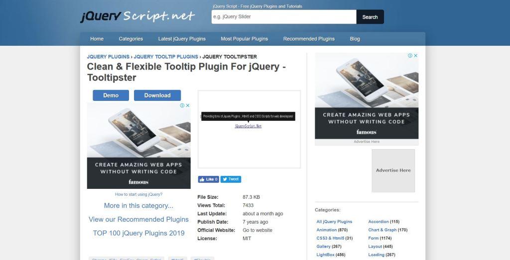 Flexible Tooltip