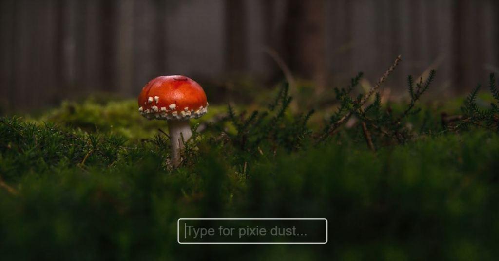 Pixie Dust Input